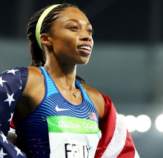 How much is Allyson Felix worth
