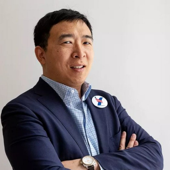 How much is Andrew Yang worth