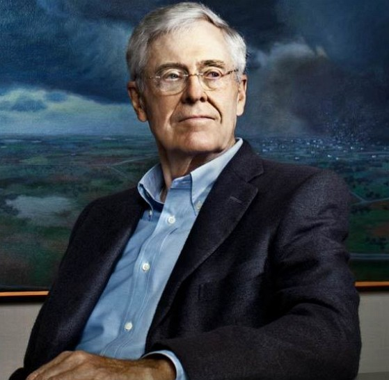 How much is Charles Koch worth